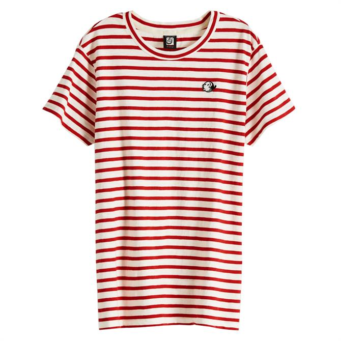 Scotch & Soda Brutus Striped T-Shirt