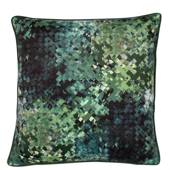 Malini Hudson Green Cushion