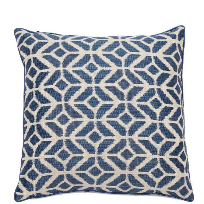 Malini Samarkand Indigo Cushion