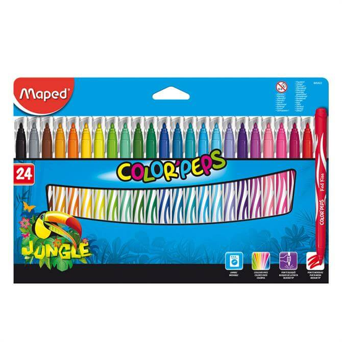 Maped Colour Peps Pens Set of 24