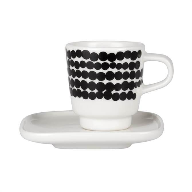 Marimekko Siirtolapuutarha Espresso Cup & Plate