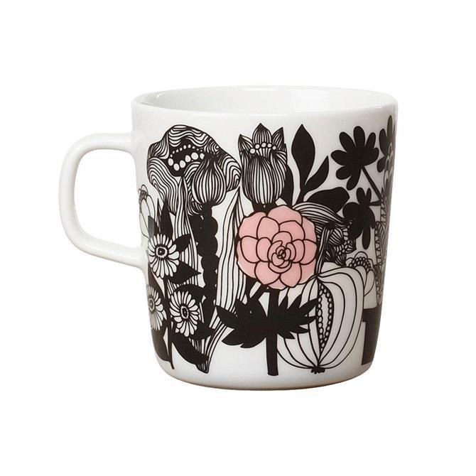 Marimekko Oiva/Siirtolapuutarha Pink Mug
