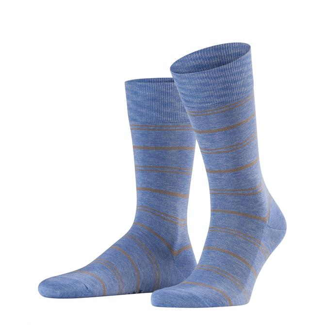 Falke Stripe Washed Mens Socks