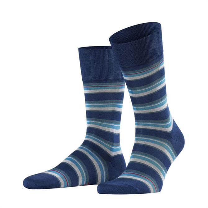 Falke Multicolour Stripe Mens Socks