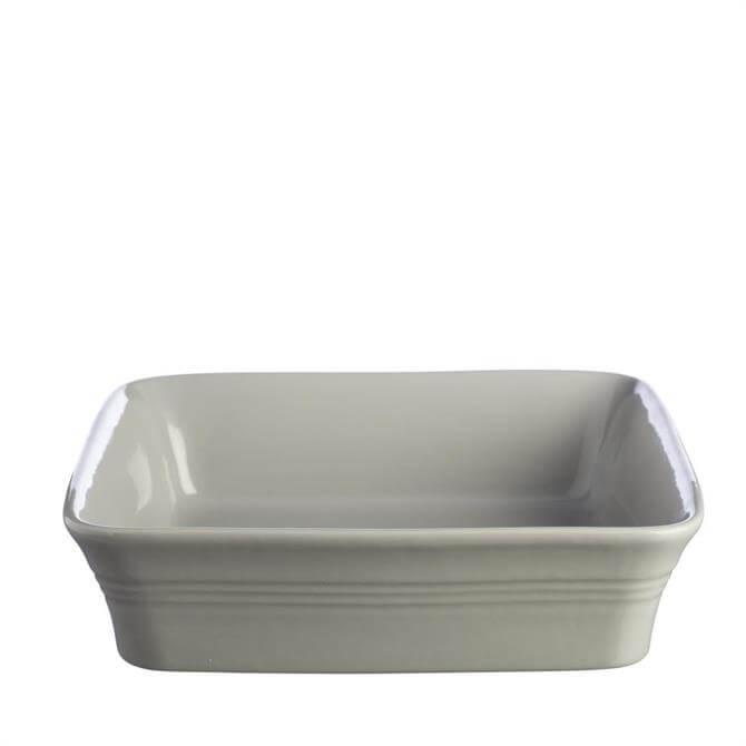 Mason Cash Classic Kitchen Grey Square Dish 26cm