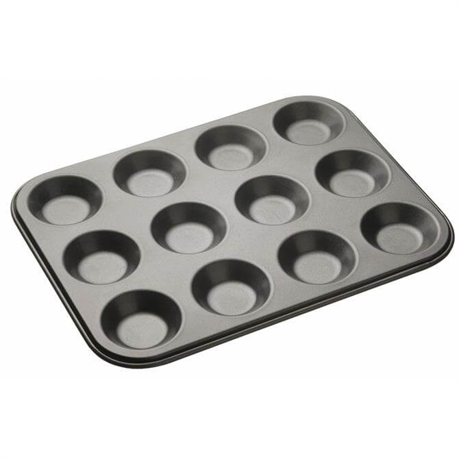MasterClass non-stick 12 hole Shallow Bun Tin