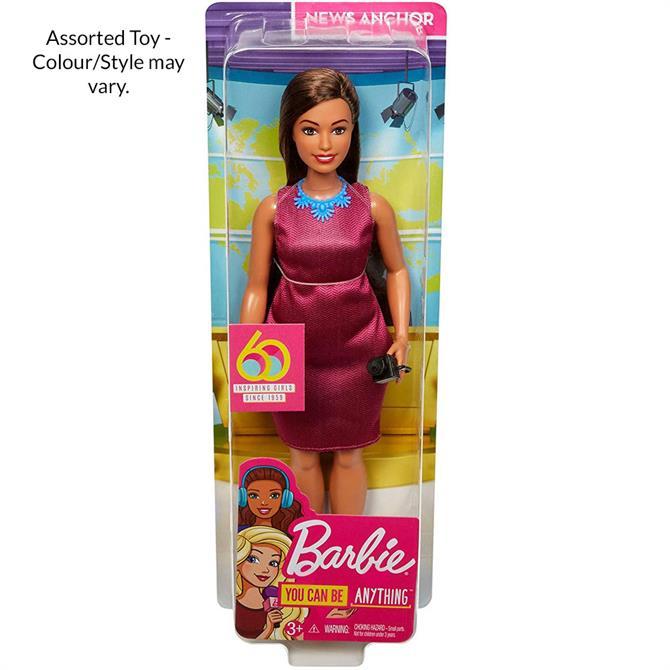 Barbie 60th Anniversary Careers