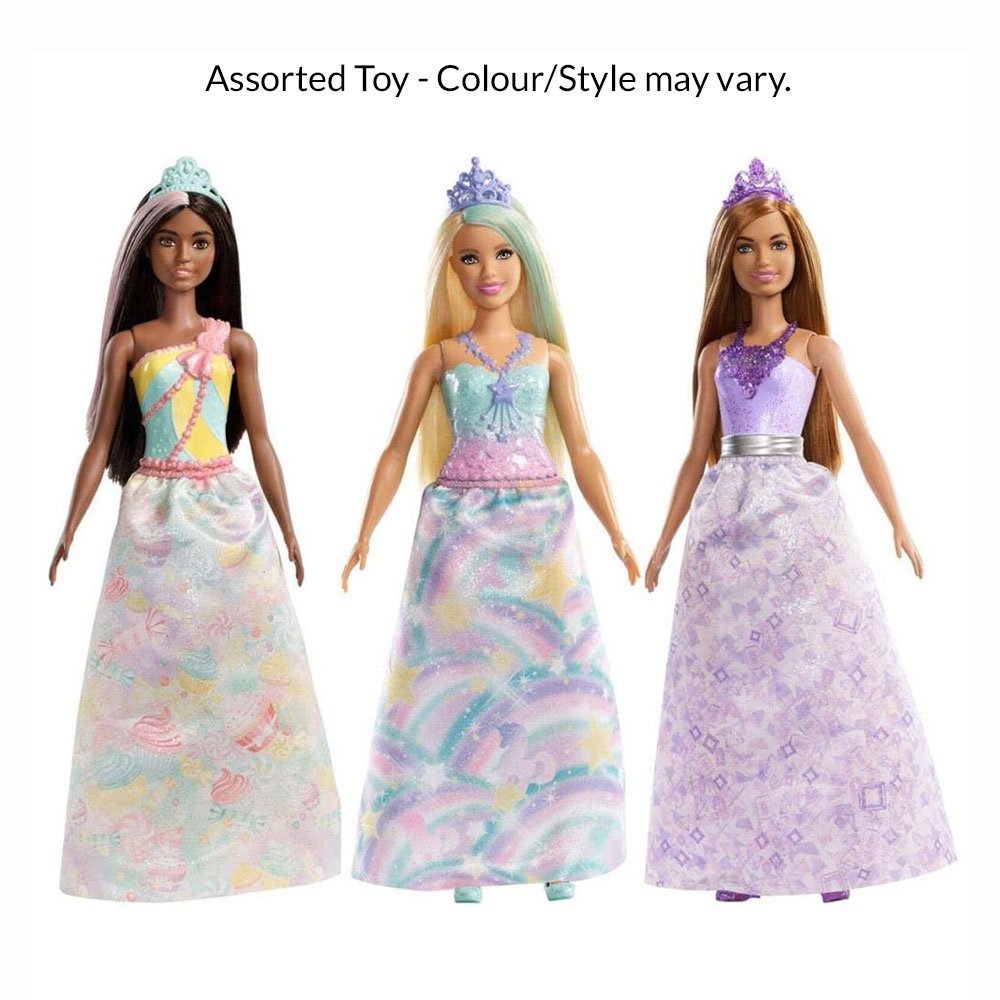An image of Barbie Princess Assorted