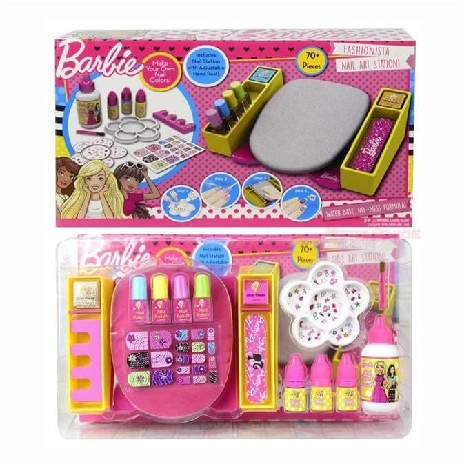 Barbie Nail Station