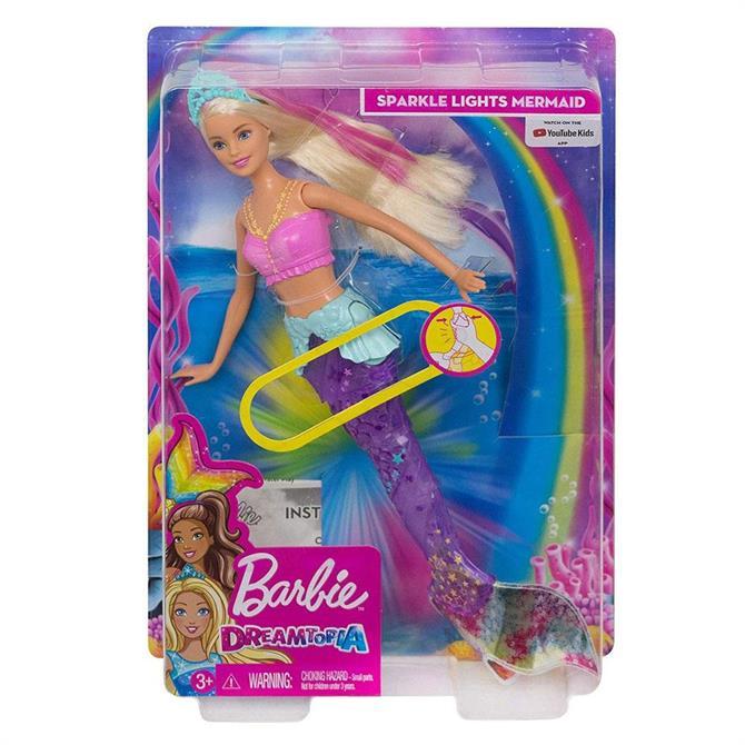 Barbie Sparkle Lights Mermaid