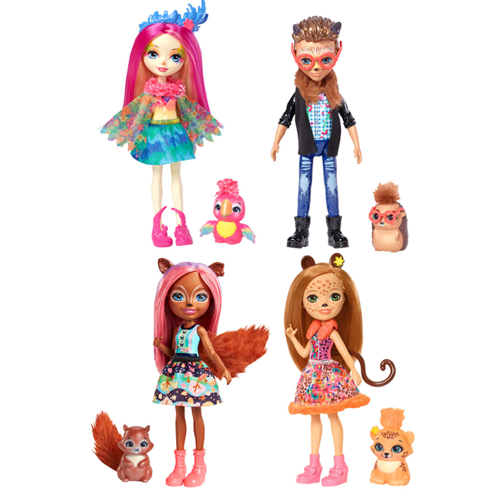 An image of Mattel Enchantimals Animal Assorted