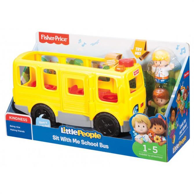 Fisher Price Little People Large School Bus