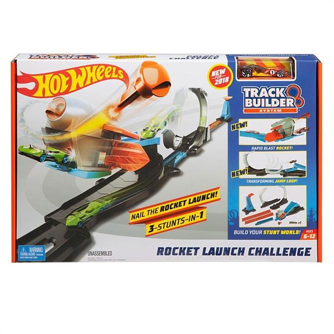 Hot Wheels Track Builder Rocket Launch Challenge Playset