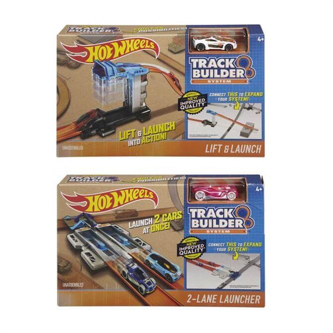 Hotwheels Track Builder Accelerators Assorted