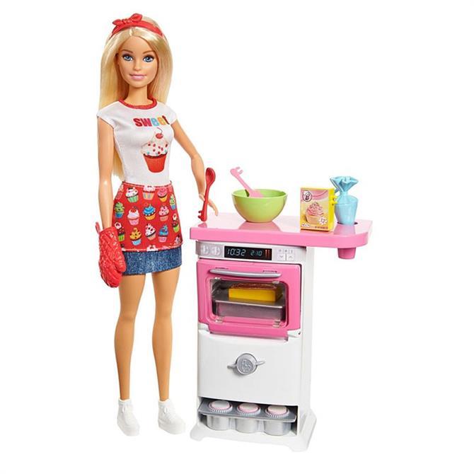 Mattel Barbie Bakery Chef Playset