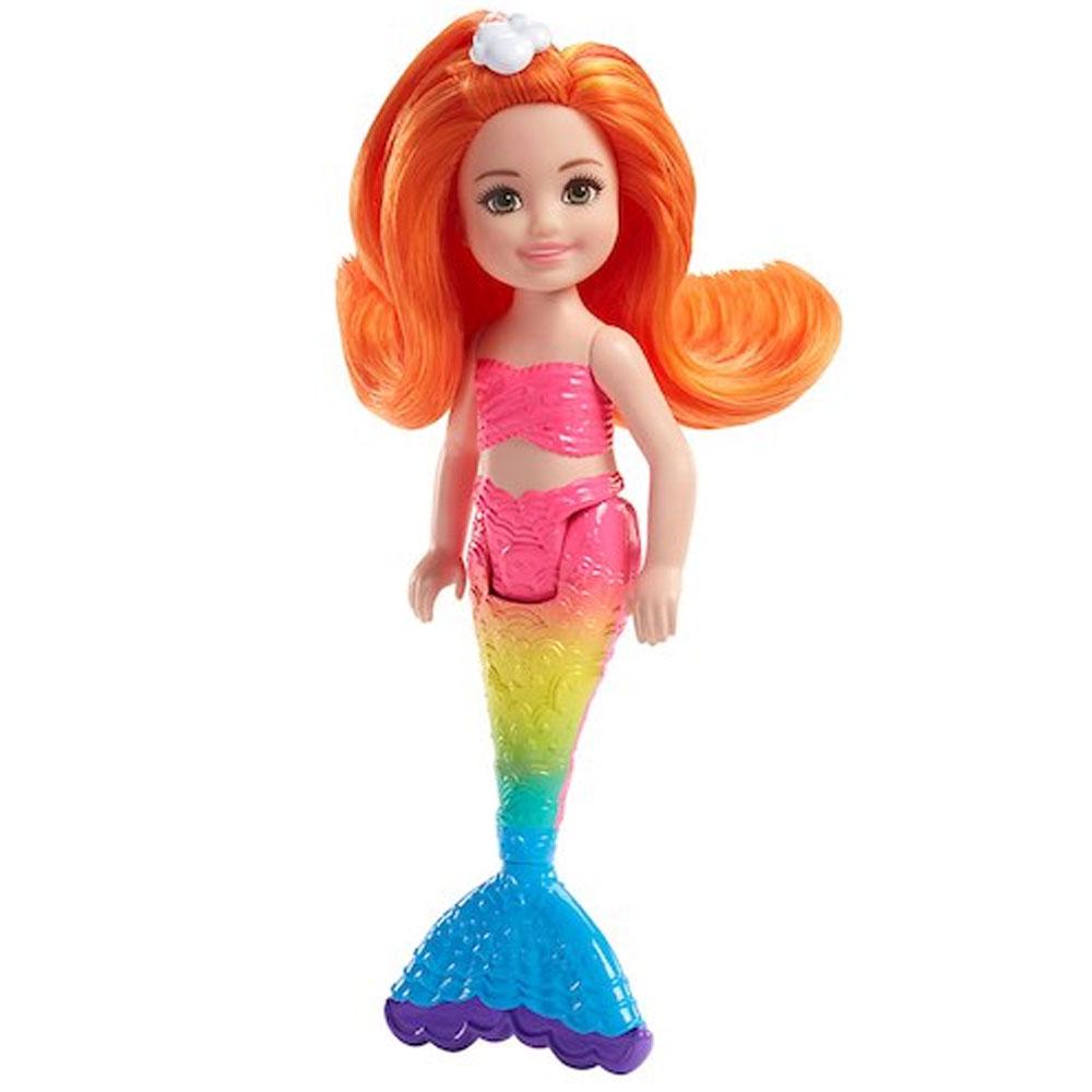 An image of Mattel Barbie Chelsea Rainbow Mermaid