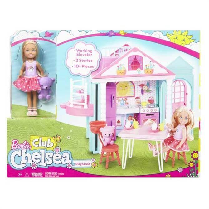 Mattel Barbie Club Chelsea Playhouse
