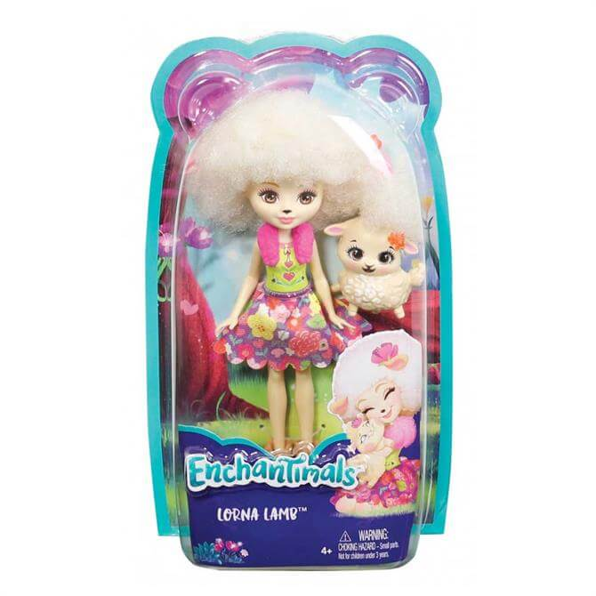 Mattel Enchantimals Doll and Pet - Assorted
