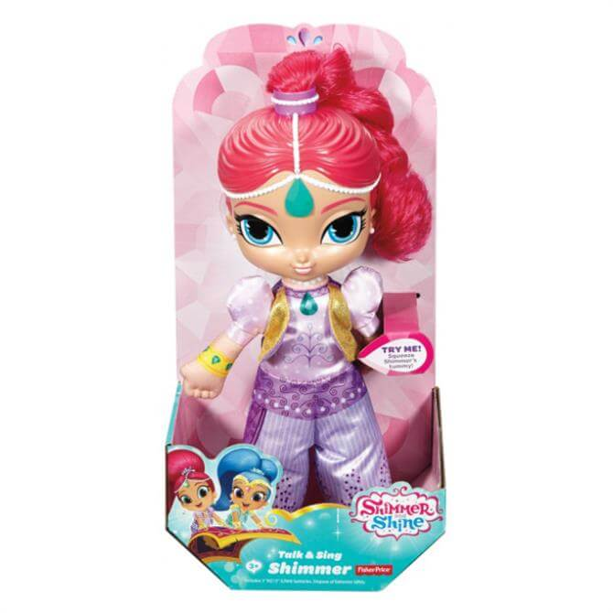 Fisher Price Shimmer and Shine Talk & Sing Shimmer