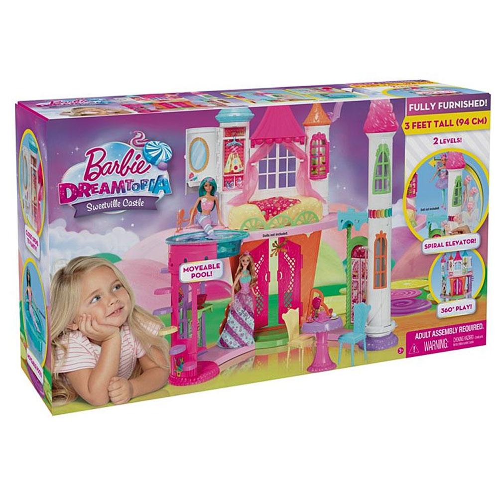 An image of Barbie Dreamtopia Sweetville Castle