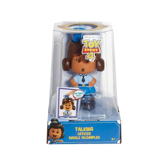 Mattel Toy Story 4 Talking Officer Giggle McDimples