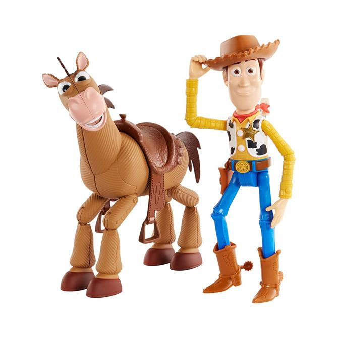 Mattel Toy Story Woody and Bullseye Adventure Pack