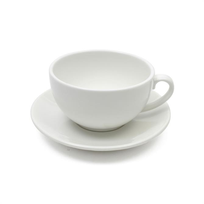Maxwell & Williams White Basics Cappuccino Cup & Saucer