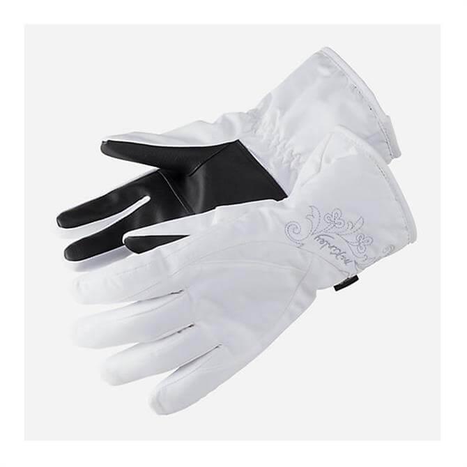 McKINLEY Women's Vaean Ski Gloves- White
