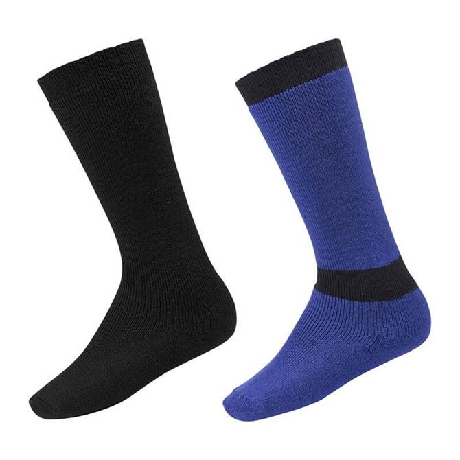 McKINLEY Junior Simple Duo Ski Sock- Twin Pack
