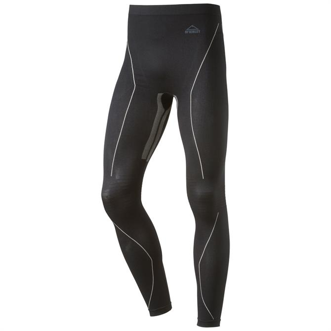 McKINLEY Men's Sion Seamless Baselayer Ski Pants- Black Night