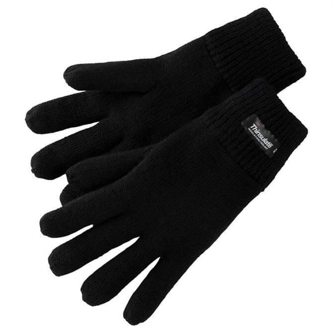 McKINLEY Eon II Knitted Thinsulate Gloves- Black