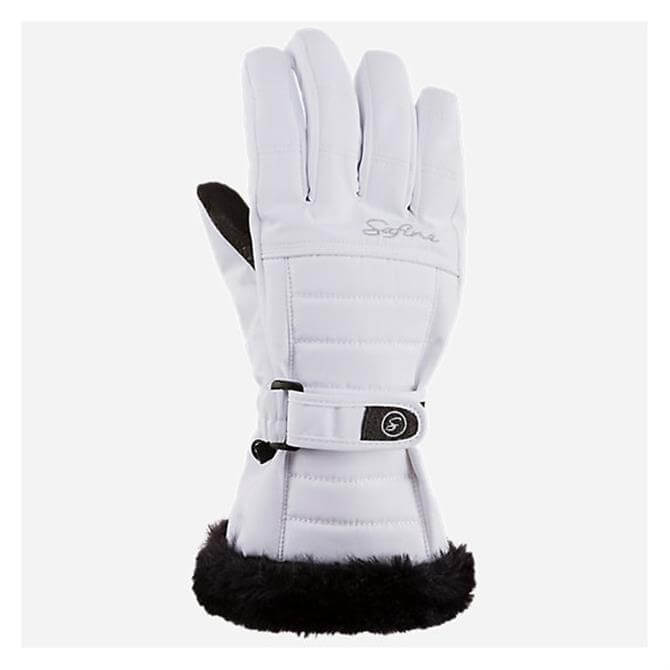 McKINLEY Women's Blair Winter Ski Glove- White