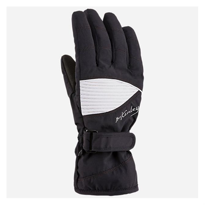 McKINLEY Women's Brenna Ski Gloves- Black Night