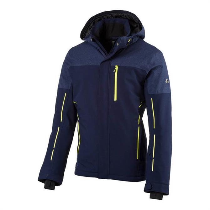 McKINLEY Men's Bendix UX Winter Ski Jacket- Navy
