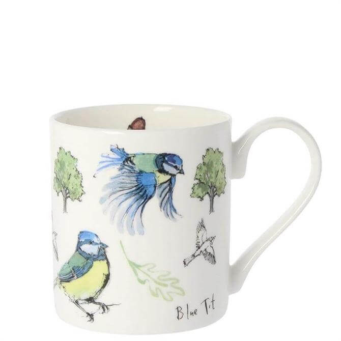 Madeline Finch 5 Blue Tit Mug