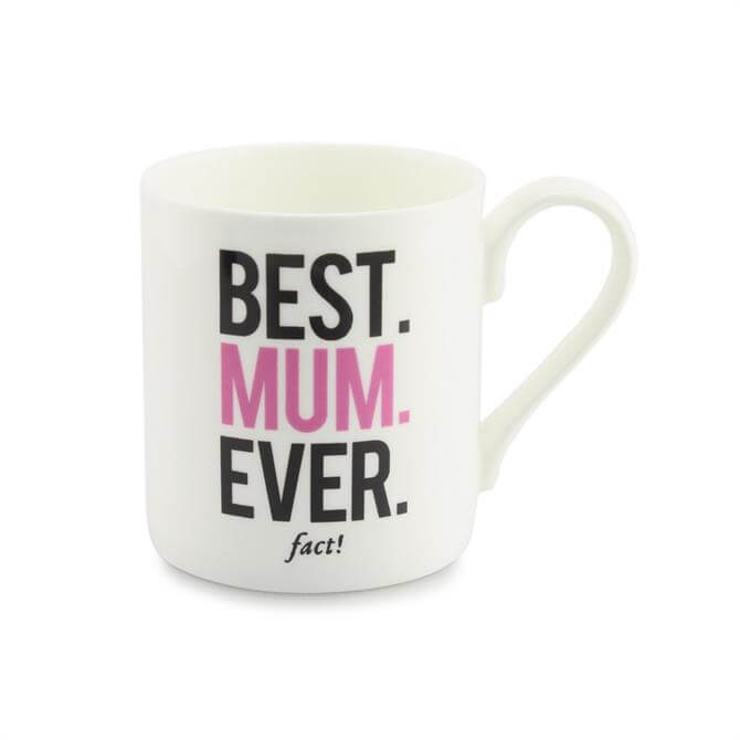 Mclaggan Mug: Best Mum Ever (fact)