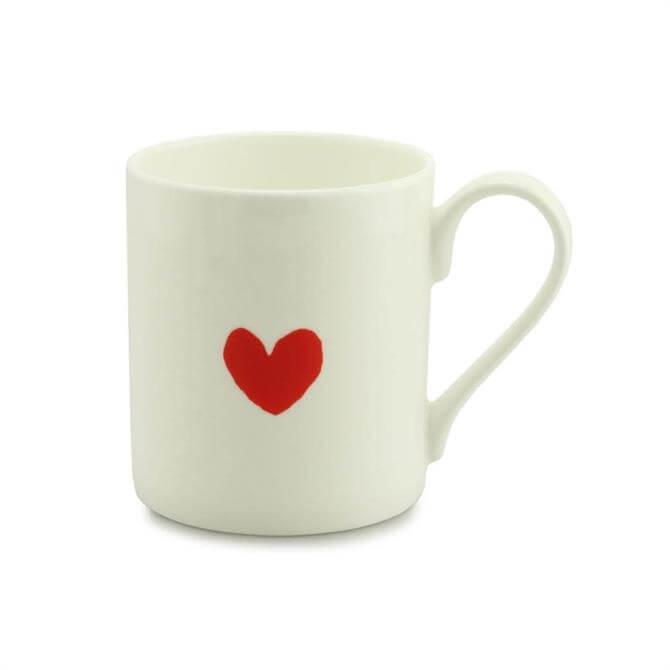 Mclaggan Valentine's Mug: Little Red Heart