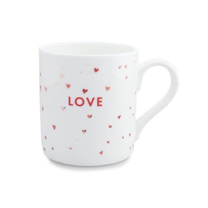 Mclaggan Valentine's Mug: Love Hearts