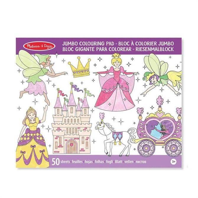 Melissa and Doug Jumbo Princess Colouring Pad