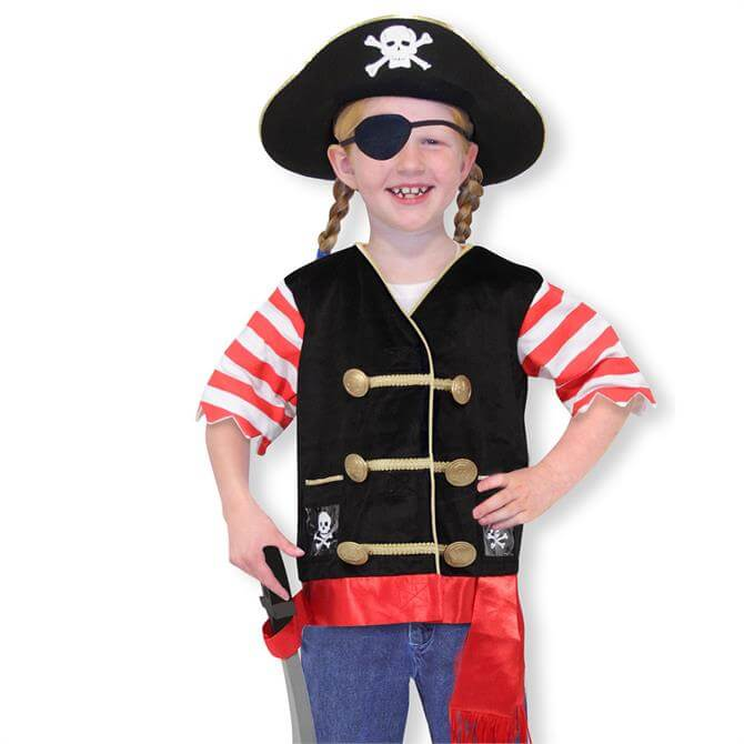 Melissa & Doug Pirate Costume