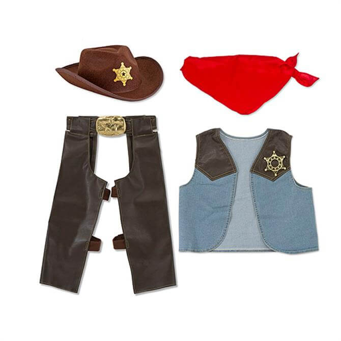 Melissa & Doug Cowboy Roleplay Costume Set