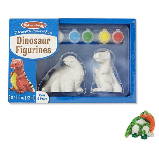 Melissa and Doug Decorate Your Own Dinosaur Figurines