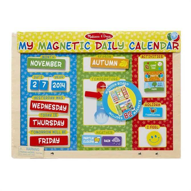 Melissa & Doug My Magnetic Daily Calendar