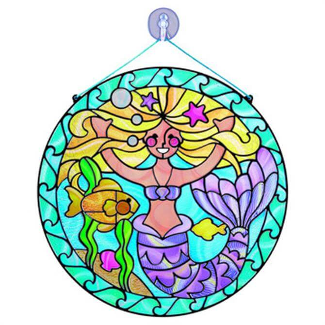 Melissa and Doug Stained Glass Mermaid