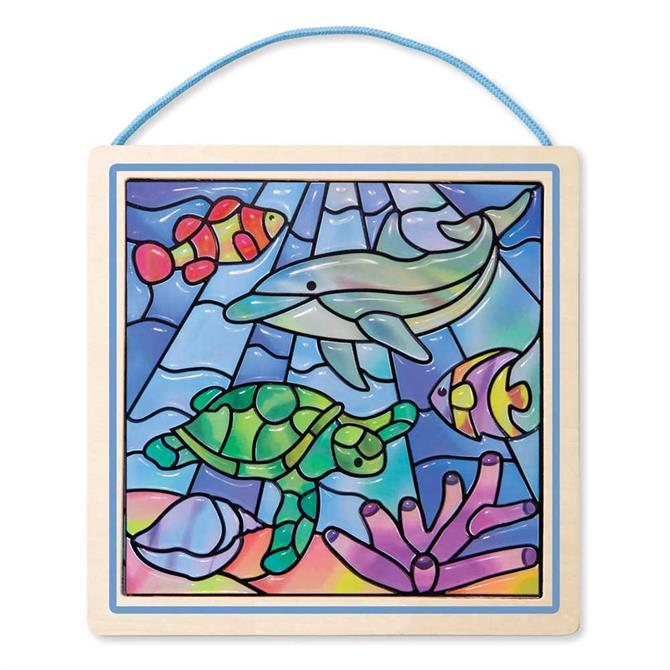 Melissa and Doug Stained Glass Ocean