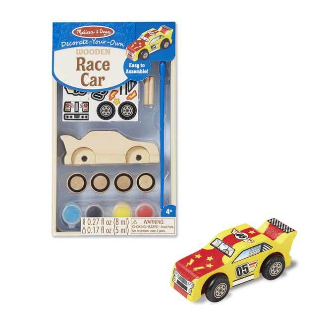 Melissa and Doug Decorate Your Own Racing Car