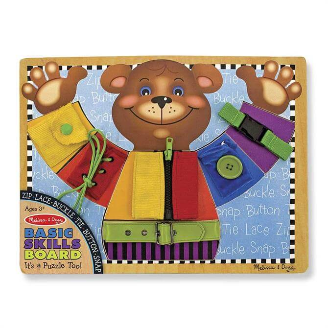 Melissa and Doug Basic Skills Board