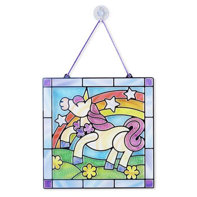 Melissa and Doug Stained Glass Unicorn