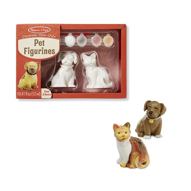 Melissa and Doug Decorate Your Own Pet Figurines