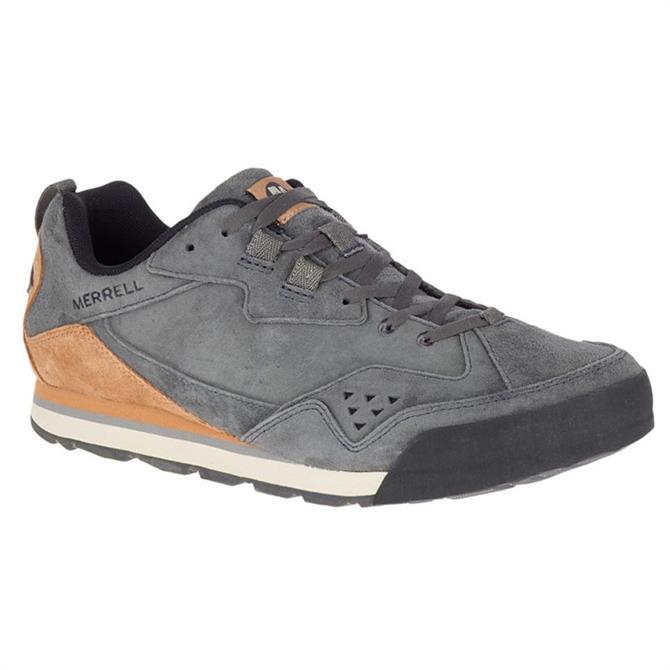 Merrell Burnt Rock Tura Granite Suede Trainer